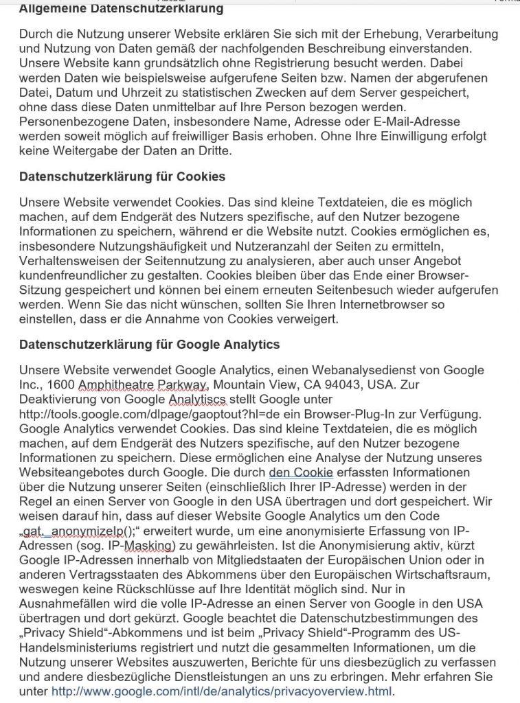 Datenschutzerklärung 26.5.18 Bild 1